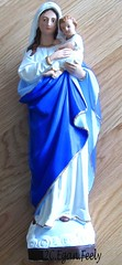 Restored Mary & Child (^^AodhaginArt ^^) Tags: statue religious chalk artwork restoration 2012 ceganfeely