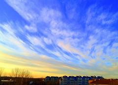 Sun Set at Quincy MA - #19Jan2012-IMG_2098a (photographic Collection) Tags: blue sky sun set clouds ma evening quincy us jan photographic collection 365 19th 4s 2012 iphone sarma kalluri iphoneography iphonographer photographiccollection bheemeswara bkalluri bheemeswarasarmakalluri