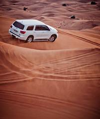 desert safari (miemo) Tags: travel car sand dubai desert jeep 4x4 dunes uae middleeast 4wd olympus safari arabia unitedarabemirates ep1