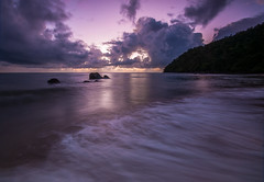 Etty Bay Sunrise (Zac3200) Tags: sea beach ex sunrise bay nikon north sigma australia nd queensland 1020mm 1020 far hitech innisfail etty cokin formatt d90