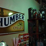 "Humber Cycles Sign at Sipi River Lodge <a style=""margin-left:10px; font-size:0.8em;"" href=""http://www.flickr.com/photos/14315427@N00/6741777291/"" target=""_blank"">@flickr</a>"