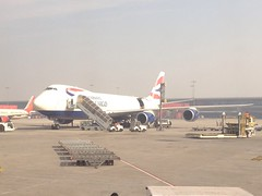 British Airways Cargo: G-GSSF - Boeing 747-800F