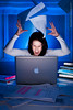 Writing thesis frustration (Rob Orthen) Tags: muotokuva roborthenphotography muotokuvausprojekti