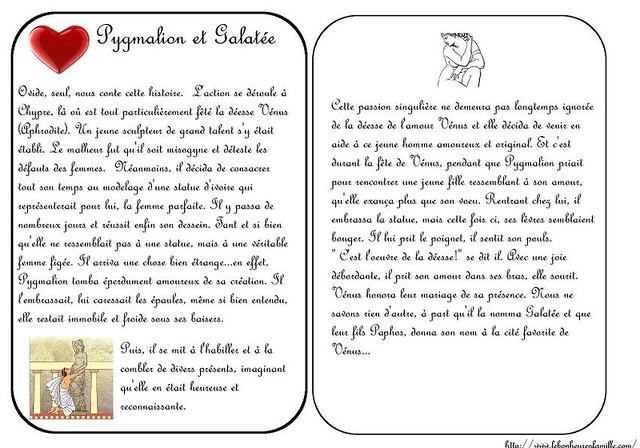 BBBBBBBBBBBBgrosse cartes Pygmaloin et Galatée