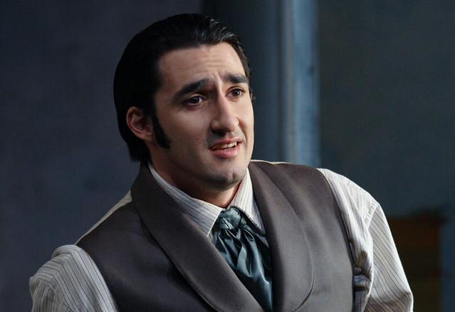 Charles Castronovo in La traviata © Catherine Ashmore/ROH 2012