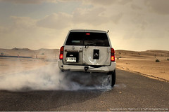 3...... 2...... 1...... Go!!! ( V|) Tags: auto car nissan desert 4x4 transport 4wd motor burnout 4800 suv hdr patrol  vtc   vehcile supersafari