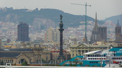 Zoom Bcn (Jose Maria Sancho Aguilar) Tags: barcelona city urban espaa port puerto lumix spain europa europe bcn ciudad catalonia panasonic panoramica catalunya catalua ciutat colom espanya urb fz38 josmarasancho