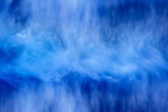 The blue wave (flowerpics09) Tags: blue winter motion cold nature water colors coast meer wasser day natur dream wave h2o blau dezember rgen farben wellen farbrausch wischer d700