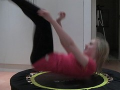 Bouncing Girl (Richie Wisbey) Tags: