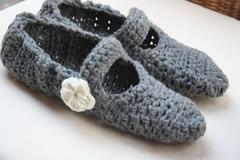 Mary Jane Crochet Slippers (TampaBayCrochet) Tags: flower crochet slippers maryjane crochetslippers teencrochet