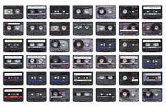 Cassettes (Jim Davies) Tags: music sony boingboing thats maxell analogue tapes audio cassettes tdk basf audiotape fav10 compactcassette veebotique