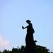 Confederate Monument - silhouette - Arlington National Cemetery - 2011