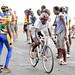Cycling race. Sao Tomé.