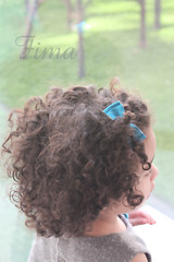 Back !*:) (Fim  Senior 2012 !) Tags: blue hair freedom back flickr child sweet curly fima