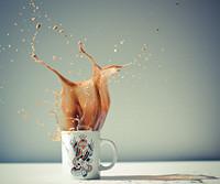ed hardy & splash one I (Grace Commons (Wicker Park Grace)) Tags: coffee drops kaffee splash spritzer edhardy frozenmovment