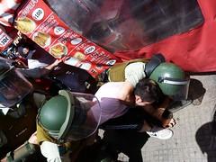 Brutos de mierda (nerraz) Tags: chile santiago students libertad protest protesta carabineros universidad violence riots violencia marcha educacion estudiantes derechos pacos represion guanaco zorrillo usach lacrimogena