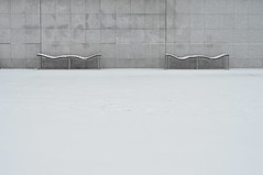 il neige (// Between the Lines //) Tags: city urban snow paris snowscape urbansnowscape ilneige snowstract