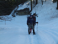LLoyd and Steve in the cold canyon to start in the a.m.