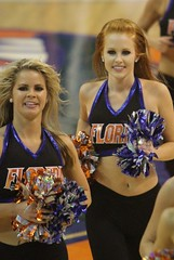 Gator Dazzlers (dbadair) Tags: basketball cheerleaders florida south gators carolina usc cheer sec uf odome 2012 gamecocks