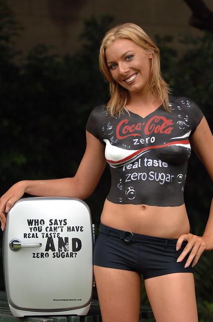 Coca-Cola Zero Bodyart