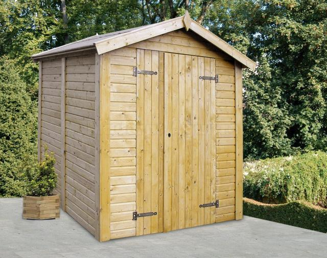 Maderas aguirre sillas casetas de madera caseta de for Caseta madera jardin