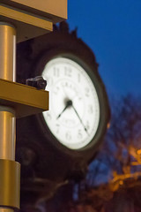 03/14/2016: TIME for Photo of the Day (Painting with Dawn's Light) Tags: clock canon downtown kodak cameras handheld photographicart hdr townclock pictureinpicture photooftheday kwanon 2016 vollenda bracketedexposure 365dayphotochallenge 366dayphotoproject photographerhumor