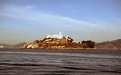 Alcatraz (birdgal5) Tags: california alcatraz sanfranciscobay 35mmslide alcatrazisland alcatrazprison sanfranciscocounty 55mmf35micropc nikkormatel september1976