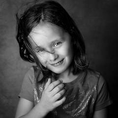 B&W Portrait of Abigail II (Chris Bilodeau Photography) Tags: camera portrait bw 3 lens paul foot nikon soft power with box f14 bees c alien 85mm buff abigail 18 left strobe b800 strobist d810