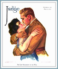 1919 October 18, - COVER - JUDGE - The Last Engagement of the War - Drawn by Edna L.Crompton (carlylehold) Tags: robert c worth longest edna crompton haefner