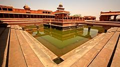 Fatehpur Sikri Palace 120 (David OMalley) Tags: india muslim islam agra palace mosque pilgrimage akbar masjid allah islamic pradesh fatehpur sikri muhammed uttar jama darwaza buland sikari vijaypur