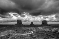 the look (rodgersam) Tags: road rock clouds utah nikon butte afternoon desert cloudy valley navajo monumentvalley mesa