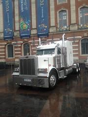 Peterbilt (xwattez) Tags: france truck expo exposition camion american transports toulouse peterbilt capitole amricain 2016 vhicule