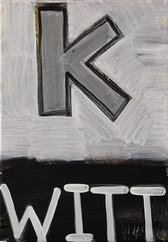Zavier Ellis 'Kurt 2', 2011 Oil on canvas 35.5x25cm