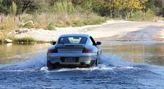 Crossing the Rio (jbspeed996) Tags: road trip travel winter fall wet water silver river season 911 scenic cruising places turbo german porsche 996