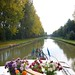 Boating on a French Canal