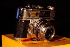 DSC02273 (Evansshoots) Tags: camera vintage 50mm kodak rangefinder 28 135 braun 56 135mm schneider kreuznach xenar paxette bromesko