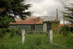 Old house, West Melton, Canterbury, New Zealand (brian nz) Tags: old newzealand house building abandoned home farmhouse rural decay farm canterbury derelict dilapidated deterioration oldandbeautiful oncewashome