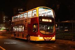 East Yorkshire 715, YX07HKE. (EYBusman) Tags: road york city bus night eclipse volvo coach yorkshire centre north east motor wright hull gemini services leeman eyms b9tl yx07hke eybusman
