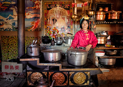My golden kitchen (nico3d) Tags: tibet amdo tibetan kham tibetanplateau