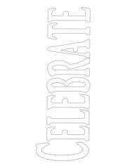 CelebrateWord (Paint Chip) Tags: pattern template coloringpage zentangle zendoodle lineweave
