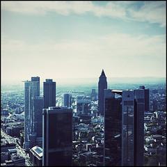 GeldSCHEINtürme (_eins_durch_f_) Tags: city tower analog glas frankfurtammain beton mainhatten fujireala100 sebastiankahl einsdurchf