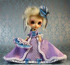 Marie Antoinette, custom blythe by Lady Cherry & Pamdolls (♥PAM♥dolls♥) Tags: ooak blythe marieantoinette rbl customblythe pamdolls ladycherry