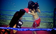 UW-ChineseBoxing 9 (steadichris) Tags: underwater models chinese scuba lingerie cebu boxing breathhold