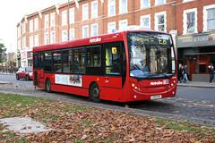 Metroline DE995 LK09ENF (Howard_Pulling) Tags: uk november autumn bus london buses canon ealing westlondon e8 ealingbroadway adl metroline 2011 400d enviro200 howardpulling routee8 de995 lk09enf servicee8