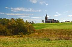 St. Johns Catholic Church (thoeflich) Tags: fall oct stjohns catholicchurch churchtown falllandscape