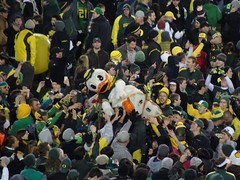 """The Duck"" (ScottD75) Tags: oregon championship ducks 12 rosebowl universityoforegon pac eugeneoregon autzenstadium"