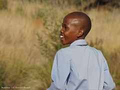 Happiness (MrGGBen) Tags: africa portrait smile southafrica kid happiness mpumalanga blyderivercanyon blackkid