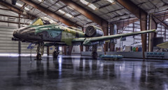A-10 (BlackRockBacon) Tags: arizona plane pentax aviation august hdr warthog k5 a10 2011 pimaairandspacemuseum photomatix tamron1750