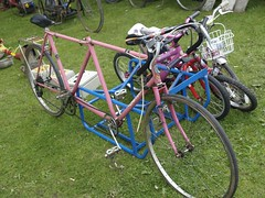 Old Tandem Bicycles (imagetaker!) Tags: bicycles rides recycle   oldbikes pedalpower pinkbicycles pushbikes classicbikes twowheelers oldcycles peterbarker onyerbike classicbicycles bicyclephotos transportimages  imagetaker1 petebarker imagetaker classiccycles  bicycleimages pushcycles imagesofbicycles picturesofbicycles bicyclesforpeople oldtandembicycles pinktandems