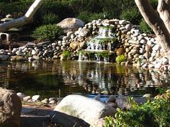 Fountain2 (LladyYas) Tags: fountain architecture flora scenery peace landscaping meditation rit rochesterinstituteoftechnology tojogarden tojomemorialgarden